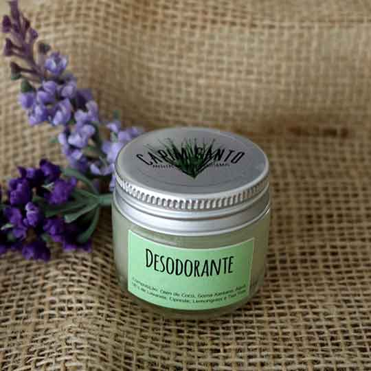 Desodorante Natural em Creme